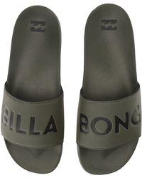 Billabong - Poolslide (military) Men's Sandals - Lyst