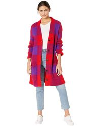 Blank NYC - Long Cardigan In Baby Boomer (baby Boomer) Women's Sweater - Lyst