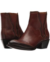 Lucchese - Gia (tan Mad Dog Goat) Cowboy Boots - Lyst