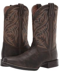 37741de63ba Lyst - Ariat Sport Outfitter (wicker) Cowboy Boots in Brown for Men
