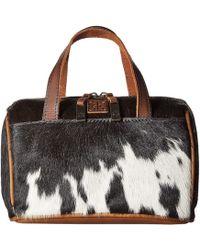 STS Ranchwear - The Makeup Bag (cowhide/tornado Brown) Handbags - Lyst