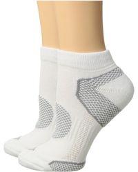 Columbia - 2-pack Low Cut Walking Socks (white) Women's Low Cut Socks Shoes - Lyst