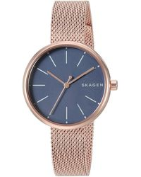Skagen - Signatur - Skw2593 (rose Gold) Watches - Lyst