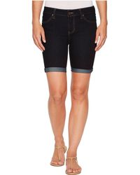 Liverpool Jeans Company - Nancy Shorts Rolled In Indigo Rinse (indigo Rinse) Women's Shorts - Lyst