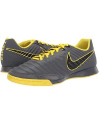 617f9e866e9 Nike - Tiempo Legendx 7 Academy Ic (black metallic Vivid Gold) Men s Soccer