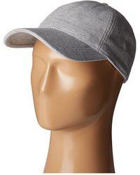Lacoste - Cotton Pique Cap (silver Chine) Caps - Lyst 388fc5e74650