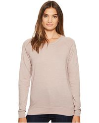 Alternative Apparel - Eco-heather Slouchy Pullover - Lyst