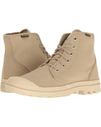 Palladium - Pampa Hi Originale (butternut/tarmac) Lace-up Boots - Lyst