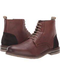 Josef Seibel - Stanley 01 (black) Men's Lace-up Boots - Lyst