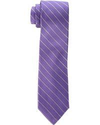 Calvin Klein - Hi Rib Pinstripe (lilac) Ties - Lyst