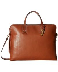 Fossil - Emma Laptop Bag - Lyst