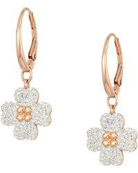 Swarovski - Latisha Pierced Earrings (rose Gold Plating) Earring - Lyst