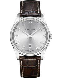Hamilton - Jazzmaster Thinline - H38511553 (silver) Watches - Lyst