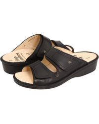 Finn Comfort - Jamaica - 82519 (brandy Country Soft Footbed) Women's Slide Shoes - Lyst