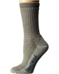 Smartwool - Hike Medium Crew (taupe) Women's Crew Cut Socks Shoes - Lyst