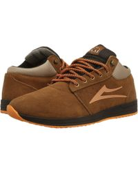 Lakai - Griffin Mid Weather Treated (black Leather 1) Men's Skate Shoes - Lyst