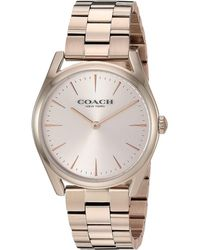 COACH - Preston - 14503111 (pink) Watches - Lyst
