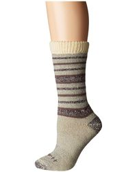 Carhartt - Heavyweight Wool Boot Socks With Sweater Top 1-pair Pack (moss) Women's Crew Cut Socks Shoes - Lyst