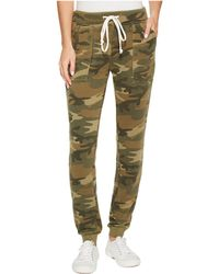 Alternative Apparel - Burnout French Terry Long Weekend Pants (camo) Women's Casual Pants - Lyst
