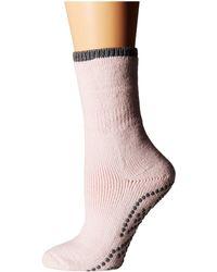 Falke - Cuddle Pad Sock (silver) Women's Crew Cut Socks Shoes - Lyst