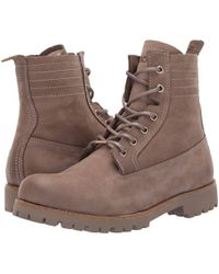 Blackstone - Lace-up Sheepskin Boot (fungi) Women's Lace-up Boots - Lyst