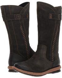 Born - Tonic (dark Grey Distressed) Women's Pull-on Boots - Lyst