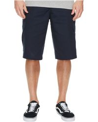 Dickies - 13 Relaxed Fit Mechanical Stretch Cargo Shorts (dark Navy) Men's Shorts - Lyst