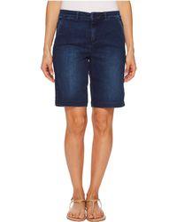 NYDJ - Petite Bermuda Shorts In Cooper - Lyst