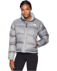The North Face - 1996 Retro Nuptse Jacket (tnf Medium Grey Heather) Women's Coat - Lyst