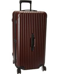 Rimowa - Salsa - Sports Multiwheel(r) 80 (matte Blue) Luggage - Lyst