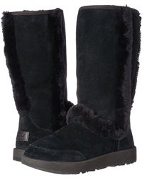 3ea62b3d272 UGG - Sundance Waterproof (black) Women s Waterproof Boots - Lyst