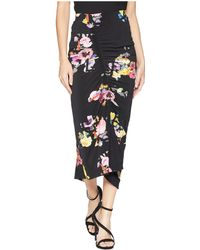 Preen By Thornton Bregazzi - Cosmia Skirt (black Posy) Women's Skirt - Lyst