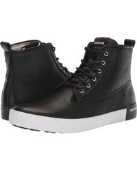 Blackstone - High Sneaker (black) Men's Lace Up Casual Shoes - Lyst