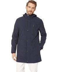 Marc New York - Bonded Jersey Hooded Parka (navy) Men's Coat - Lyst