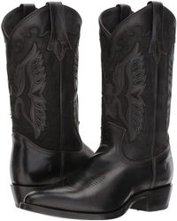 Frye - Billy Firebird (black) Cowboy Boots - Lyst