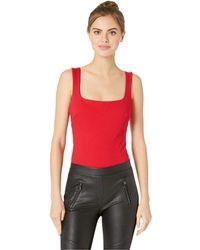 2cd9d6a64e74f Astr - Nellie Bodysuit (cherry Red) Women s Clothing - Lyst