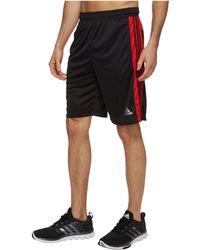 adidas - Designed-2-move 3-stripes Shorts (carbon/raw Heather) Men's Shorts - Lyst