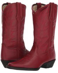 Durango - Western 11 Narrow Square Toe (black Beauty) Cowboy Boots - Lyst