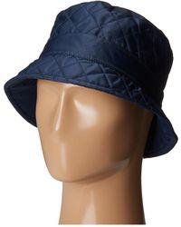 Betmar - Quilted Bucket (black) Bucket Caps - Lyst