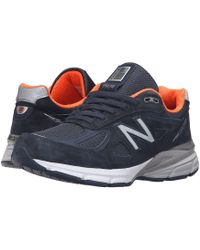 New Balance - W990v4 (black/silver) Women's Running Shoes - Lyst