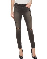 AG Jeans - Leggings Ankle In 10 Years Stone Ash - Lyst