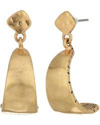 The Sak - Posted C Hoop Earrings - Lyst