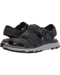Clarks Sandals Brown For Men's Men Keften Cove Lyst In zfdIzg