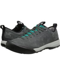 Arc'teryx - Acrux Sl Leather Approach (titan/bora Bora) Women's Shoes - Lyst
