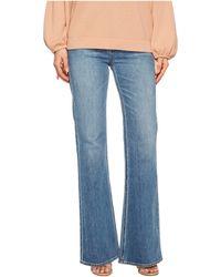 Vince - Wide Leg Flare Jeans In Santa Fe - Lyst