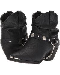 Dingo - Fiona (tan) Cowboy Boots - Lyst
