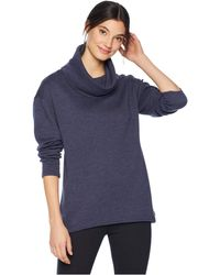 Burton - Ellmore Pullover (mood Indigo Heather) Women's Clothing - Lyst