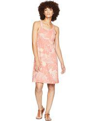 Columbia - Freezertm Iii Dress (faded Peach Hawaii Print) Women's Dress - Lyst