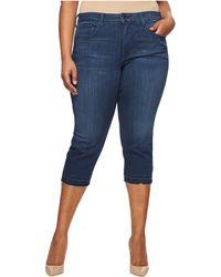 NYDJ - Plus Size Capris W/ Released Hem In Lark (lark) Women's Jeans - Lyst