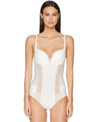 La Perla - Citrine Padded Bodysuit - Lyst